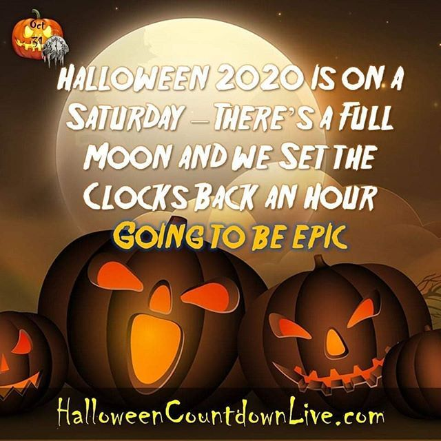 Countdown To Halloween 2020 Halloween 2020 #halloween2020 #Epic SEE MORE @ https