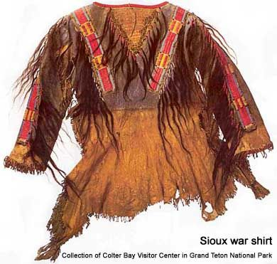 Sioux war shirt                                                                                                                                                                                 More