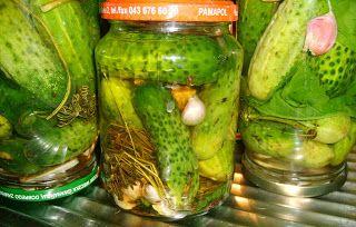 W Mojej Kuchni Lubię..: kminkowe ogórasy na zimę ziutuli-kaszubki zalane w...