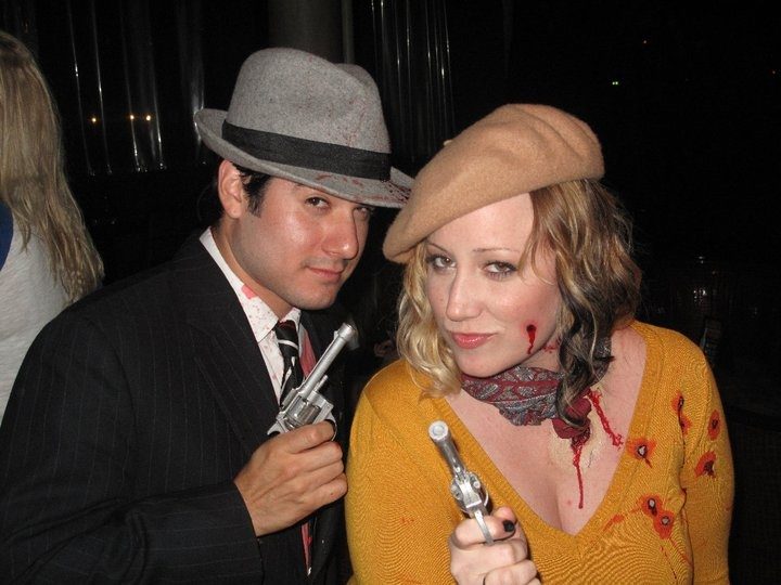 Bonnie and Clyde | Our Halloween Costumes | Pinterest