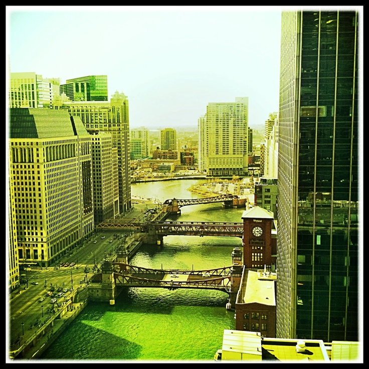 chicago - river green.....