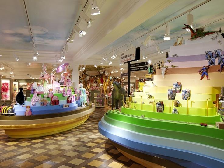 Harrods Toy Kingdom By Shed