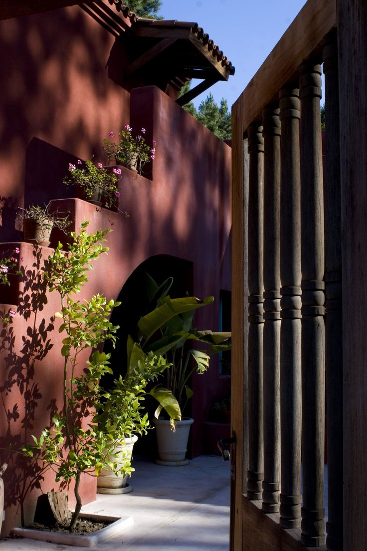 Arquitectura - Paisajismo - Ricardo Pereyra Iraola - Buenos Aires - Argentina -Punta del Este - Uruguay - Patio - Casa