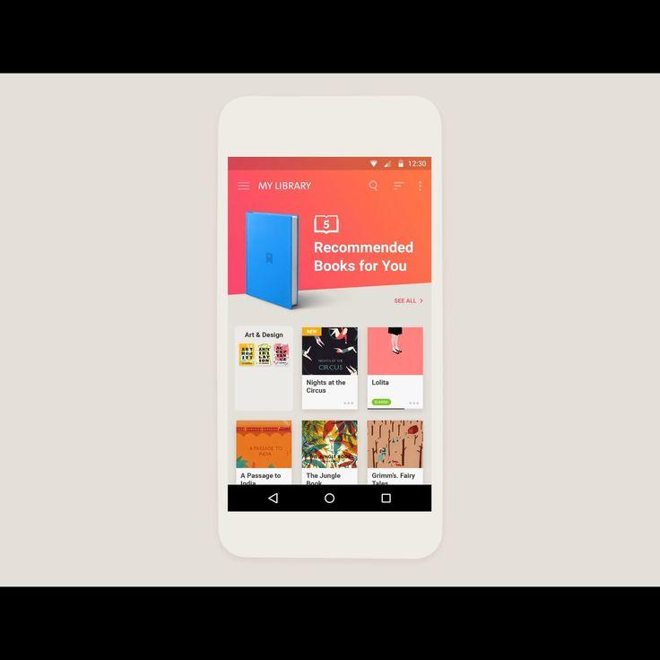 Behance :: Reader Mobile App
