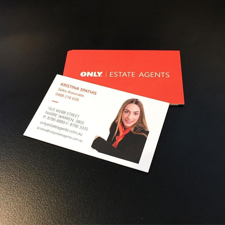 Business Cards printed for Kristina Spathis at Only Estate Agents. Looking to sell, rent or buy, give Kristina a call #Realestate #EstateAgent #BusinessCards #Print #Design #Branding #Housing #Buy #Rent #Sell #ZainDigital