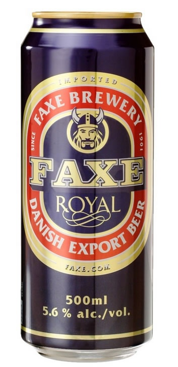 Cerveja Faxe 500ml