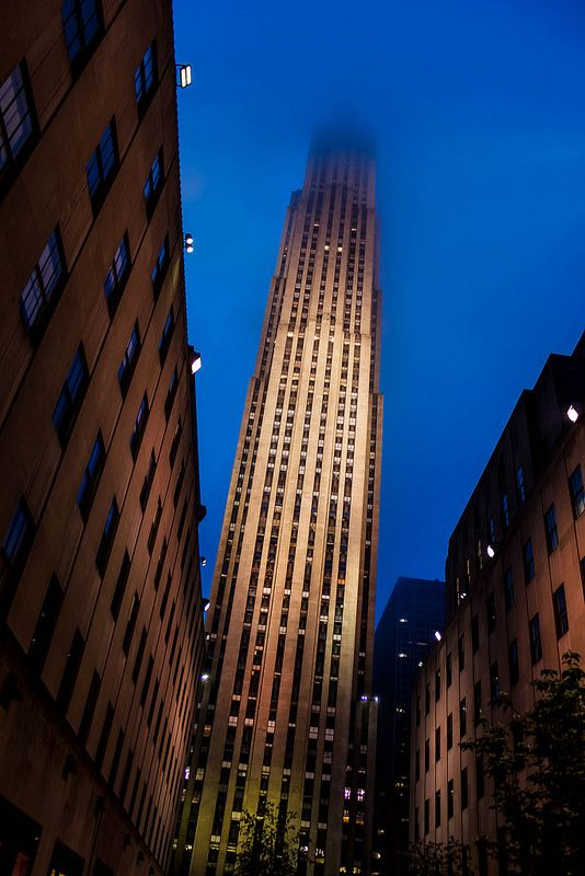 Unusual view of 30 Rock by Eric Brisson