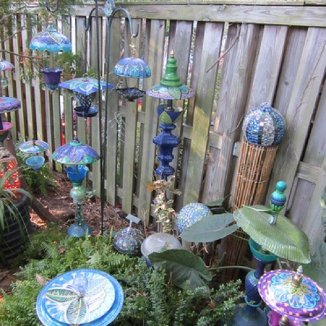 Colorful Garden Decor Ideas Diy Pinterest