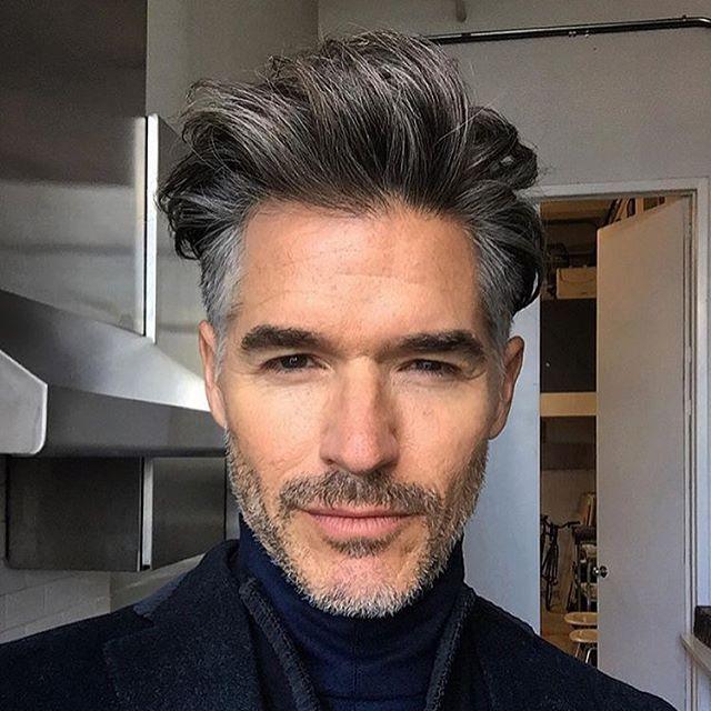 Men's tousled hair                                                                                                                                                                                 More