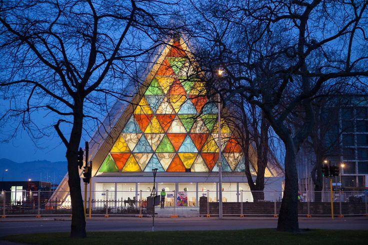 Архитектор Шигеру Бан создал картонную церковь — Дизайн — Релакс!