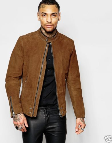 Brown Suede Jacket In Stock $169.99