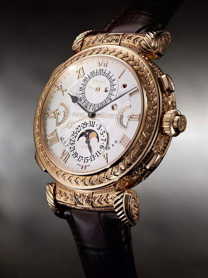 # PATEK PHILIPPE UNVEILED THE 2.5 MILLION DOLLAR GRANDMASTER CHIME FOR ITS 175 ANNIVERSARY