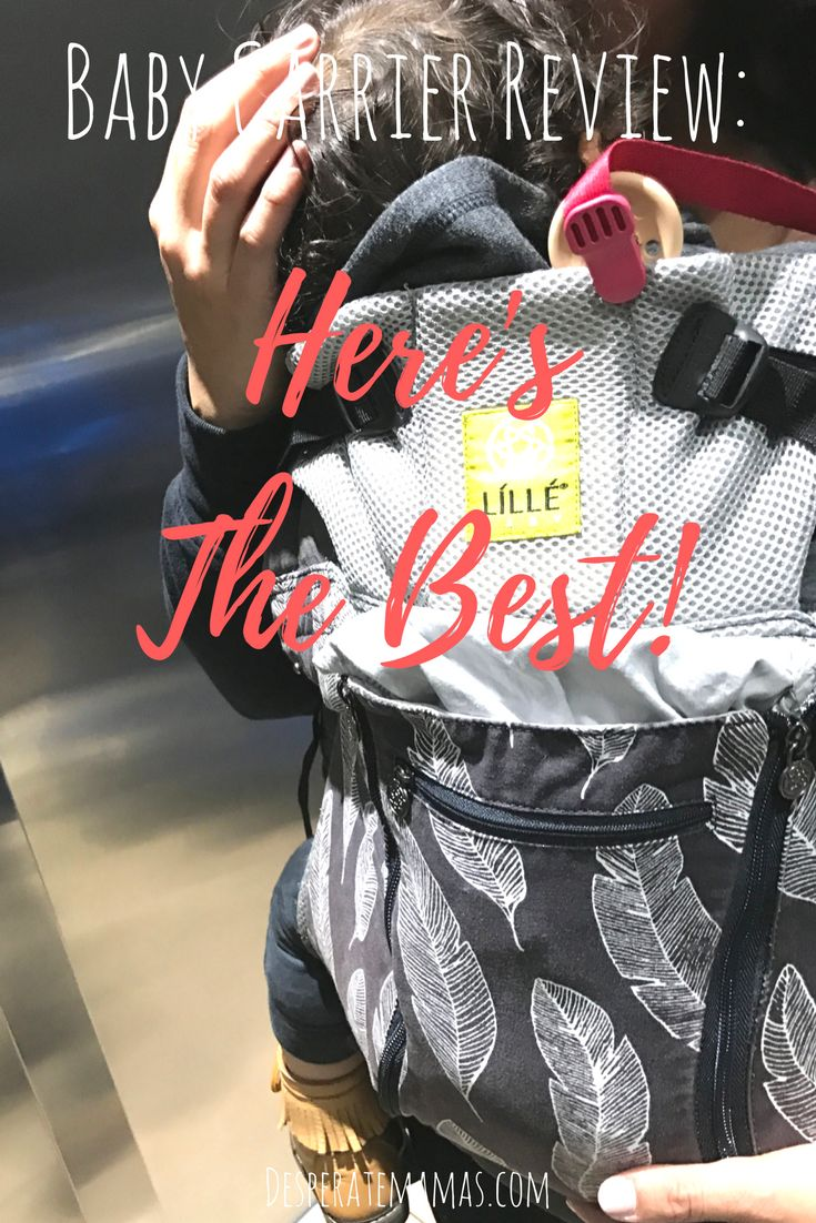Best Baby Carrier. I love the designs and how versatile it is!!!