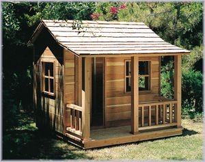 Playhouse that my husband and son are building this summer - U-BILD.com