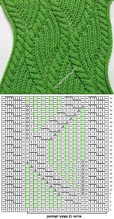 346 patrón de trenza con el modelo de patente | Catálogo patrones que hacen punto