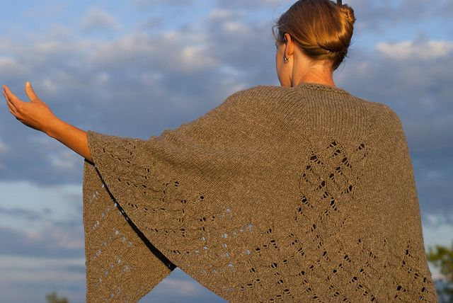 love this Jane Eyre knitted shawl, pattern in Literary Knits by Nikol Lohr (from Knitigating Circumstances)