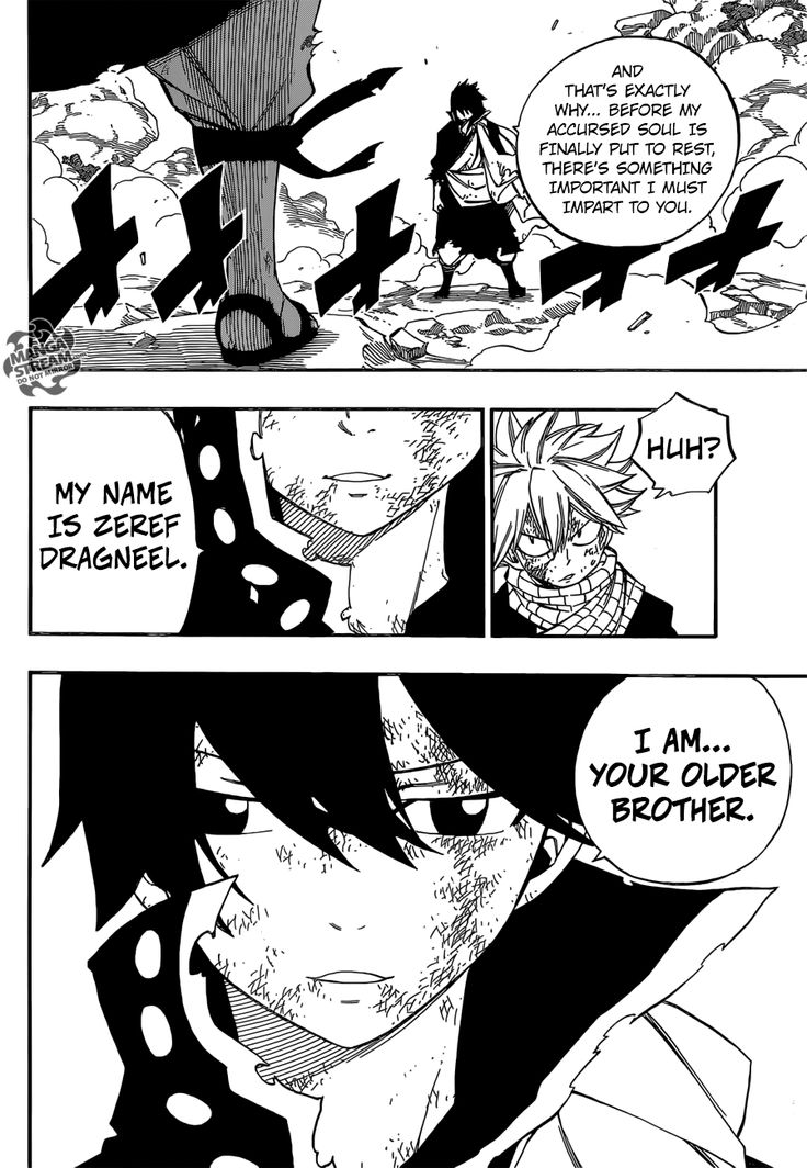 Fairy Tail 465, stupid Zeref... I don't like you anymore... SCREW YOU ZEREF DRAGNEEL!