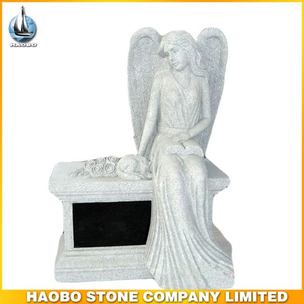 Haobo China Wholesale Angel Decrations Granite Headstones For Graves - Buy Headstones For Sale,Headstone Decorations,Headstones Wholesale Pr...