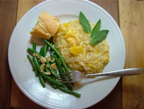 Risotto w/ sage | Vegan Food | Pinterest | Butternut Squash Risotto ...