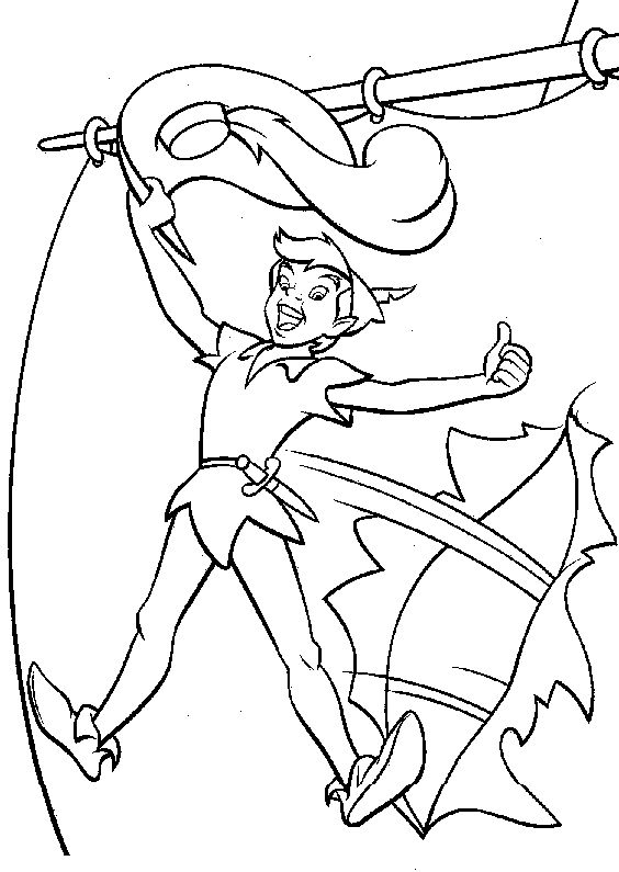 peter pan win coloring pages for kids printable peter pan coloring pages for kids