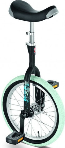 PUKY - Ethjulet Cykel ER16 Sort (4700) /Outdoor cover