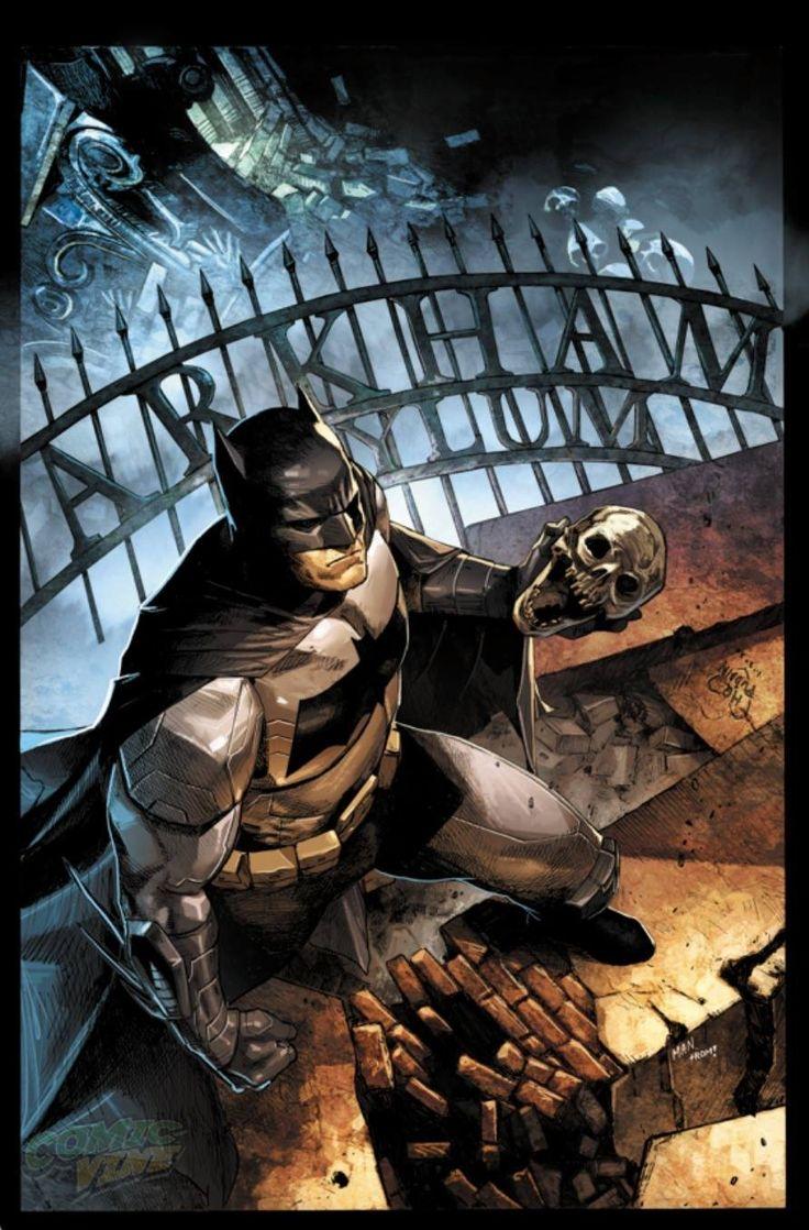 Batman Eternal #30 by Clay Mann