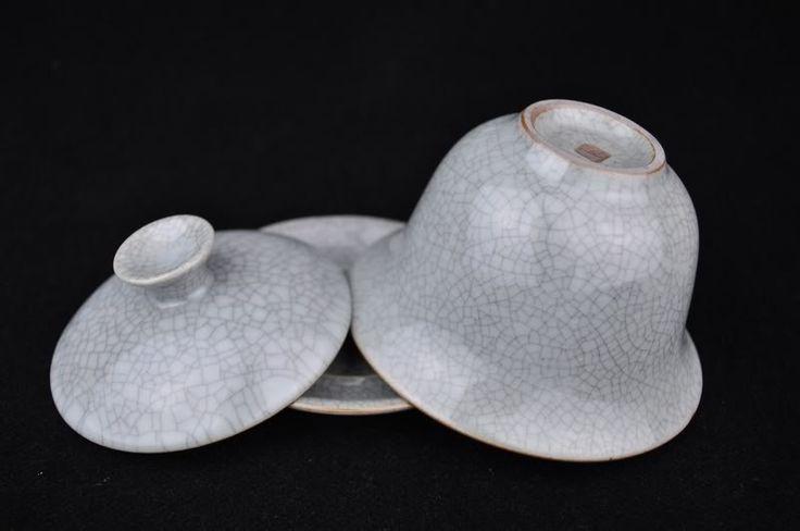 Ge Yao Celadon Grey Gaiwan for Gong Fu Tea Brewing 160ml