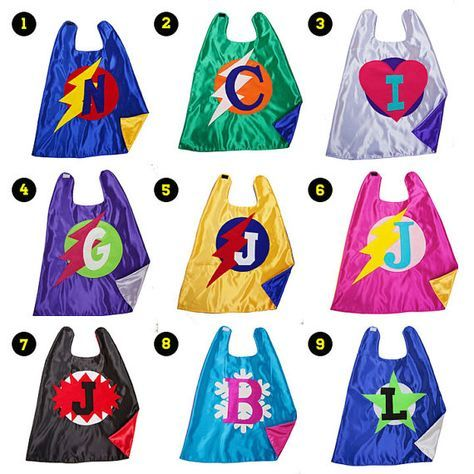 SUPERHERO CAPES . Free Mask .  Handmade Superhero Cape . Free Shipping . Capes for Kids . Custom Halloween Costume . Pick from 9 Designs