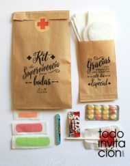 Kit de supervivencia para bodas