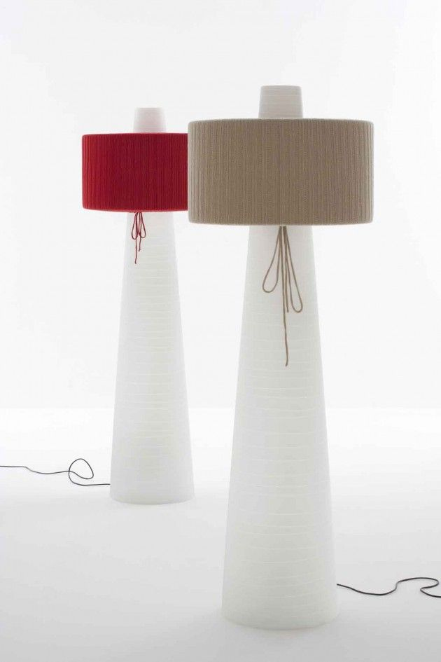 Lighting Design // UP Floor Lamp By Mario Mazzer For Lucente