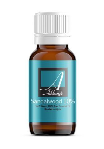 Sandalwood (Santalum spicatum) 10% in Jojoba
