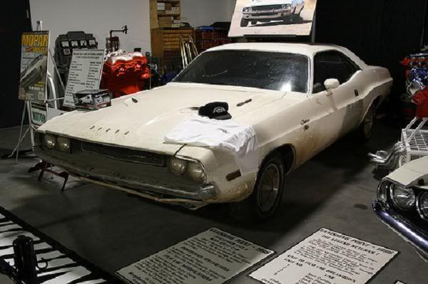 Vanishing Point - 1970 Challenger Movie Car