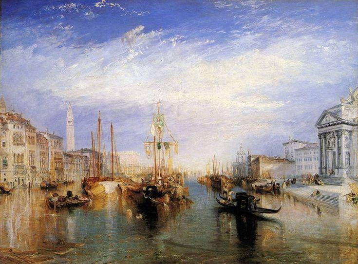 """Joseph Mallord William Turner , """"Il Canal Grande di Venezia"""""""