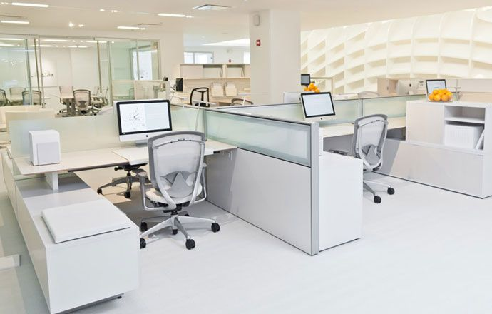 Teknion District Workstations In 2019 Open Space