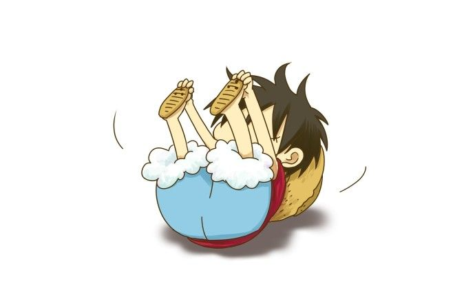 One Piece Chibi Luffy Anime Hd Wallpapers One Piece Chibi Luffy