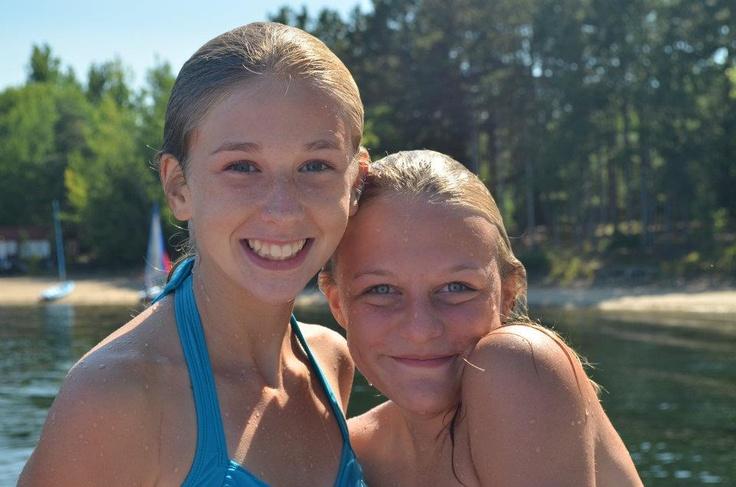 Swimming at Camp Kitchi