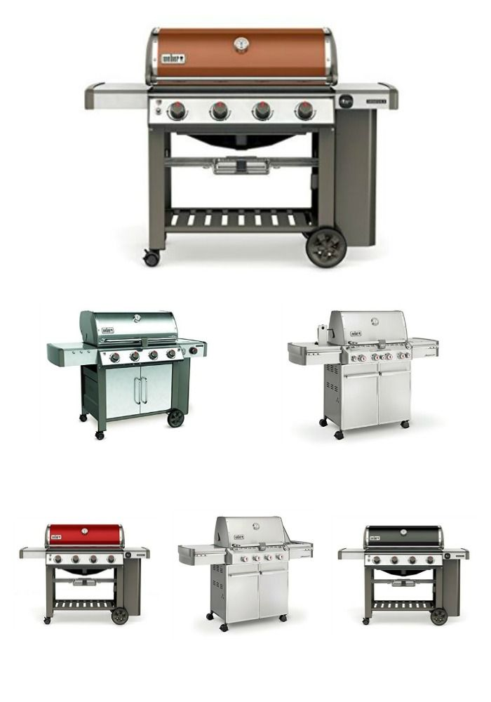 Weber Genesis Ii E 410 Vs E S 435 Reviews And Specifications Built In Grill Outdoor Kitchen Design Grilling