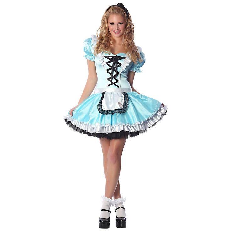 Sexy Alice In Wonderland Halloween Costume