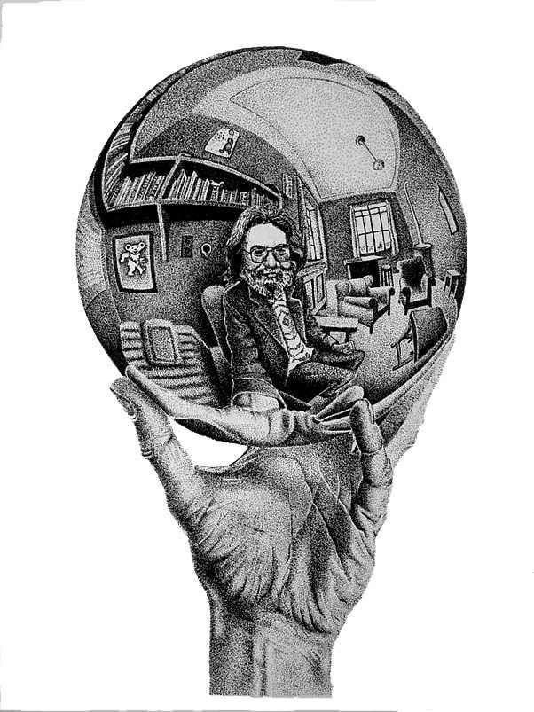 Jerry Garcia & M.C. Escher collaboration