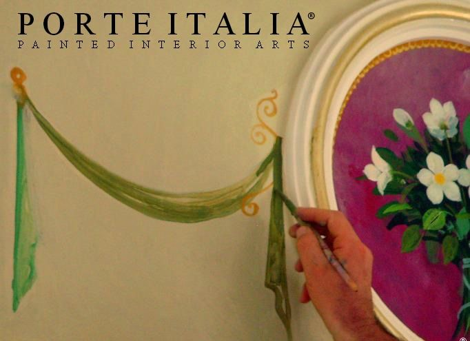 Our Artists ready to create unique masterpieces for you - PORTE ITALIA INTERIORS