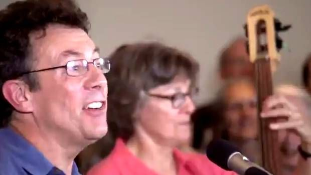 Tony Turner, a scientist with Environment Canada, has been suspended with pay over allegations that his participation in his song Harperman puts him in a conflict of interest as a public servant. Hear song/watch video here!! Muzzling of opposition is one of many reasons why it's (past) time for Harper to go!!