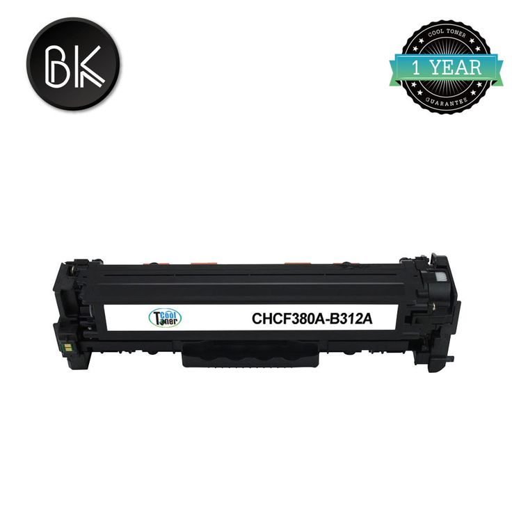 CF380A 312A Compatible Black Toner for HP LaserJet Pro MFP M476nw M476dn M476dw #CoolToner