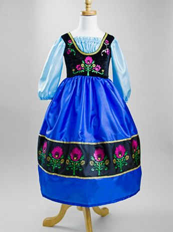 Frozen Princess Anna Replica princess dress. This dress is high on the wish list.  #rosiesboutique #rosiesteaparty #girlscostumes #princessdress #frozen #disneyprincess #anna