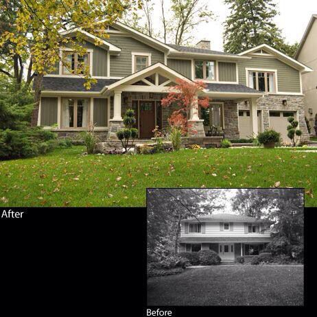 Awesome Best 10+ Exterior Home Renovations Ideas On Pinterest | Home Exteriors, Exterior  Renovation Before And After And Roof Curb