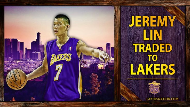 Lakers News: Jeremy Lin Traded To Lakers From Houston Rockets  Hard core hoops fan? Let's connect!! •Check out all my latest blog posts from both my sites:  ohttp://slapdoghoops.blogspot.com,   •Follow me on Twitter ohttp://www.twitter.com/slapdoghoops •The same goes for my Google+ page; add me to your circles  ohttps://plus.google.com/+SlapdoghoopsBlogspot/posts  •Finally, do me the honor and like my Official Facebook Page:  ohttps://www.facebook.com/slapdoghoops