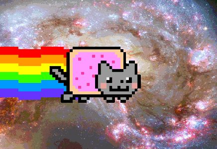 Deadmau5's Nyan Cat Ferrari