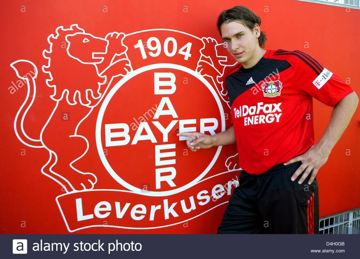 New Arrival Of Bundesliga Club Bayer 04 Leverkusen Patrick Helmes ...