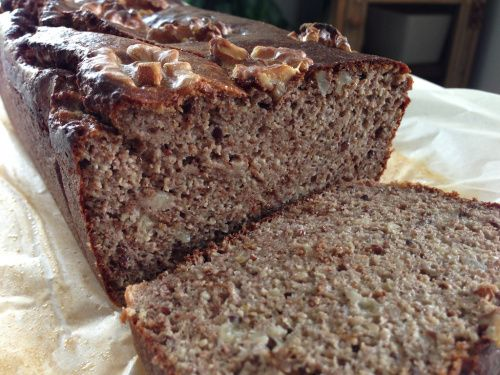 Tried making banana and walnut bread today using the Thermomix. You can easily use a blender or food processor. Paleo | Gluten Free | Diary Free Touch time: 10min Cooking time: 30min (if tin tray u…