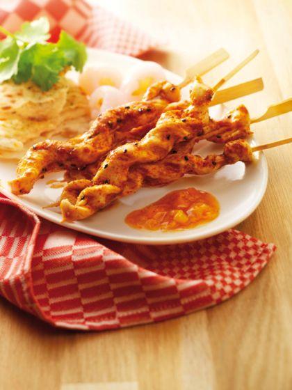 Recept voor Japanse kipsaté