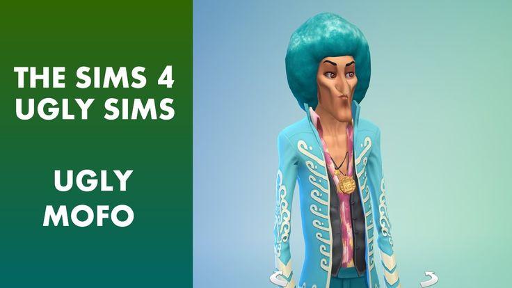 The Sims 4 - Ugly Sim Ugly Mofo